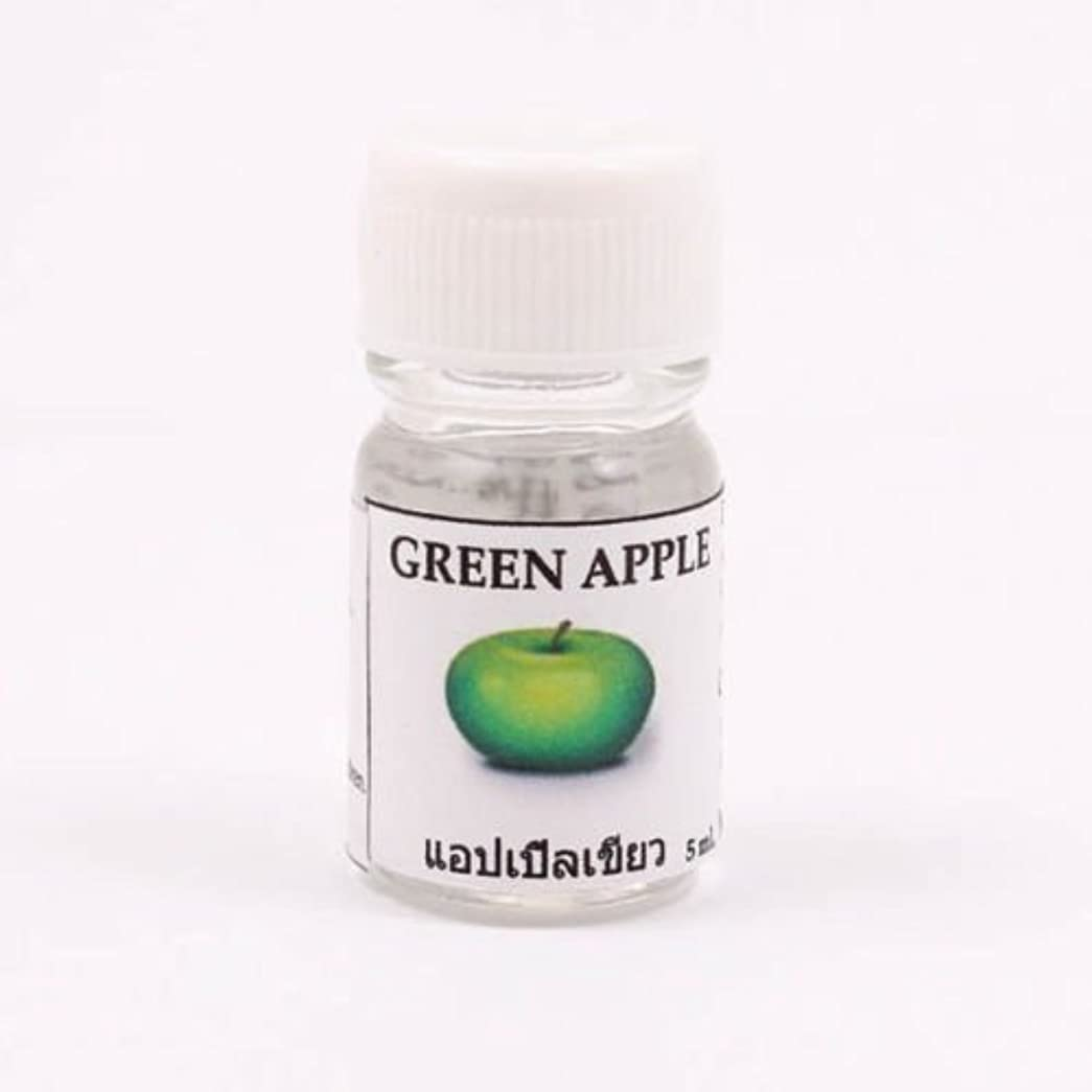 白いオーストラリア輸送6X Green Apple Aroma Fragrance Essential Oil 5ML Diffuser Burner Therapy