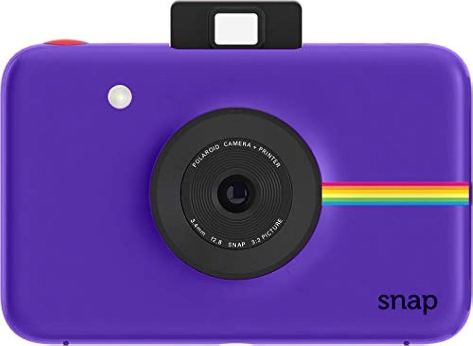 仲良しボールチーム【データも保存できる】ポラロイド Snap デジタルインスタントカメラ (パープル) プリンタ内蔵 ZINK フォトペーパー対応 (Purple)