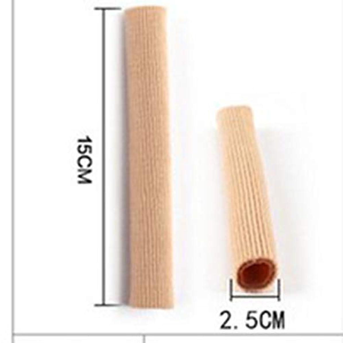 食事を調理する沼地適合しましたOpen Toe Tubes Gel Lined Fabric Sleeve Protectors To Prevent Corns, Calluses And Blisters While Softening And...
