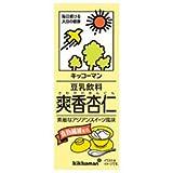 豆乳飲料 爽香杏仁 200ml ×18本