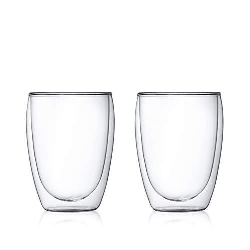 【正規品】 BODUM ボダム PAVINA ダブルウォールグラス 350ml (2個セット) 4559-10