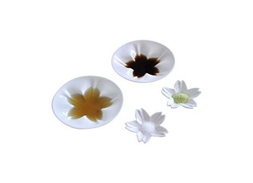 hiracle ひらくる さくら小皿・豆皿セット ホワイト 5pc HKM-05-WW