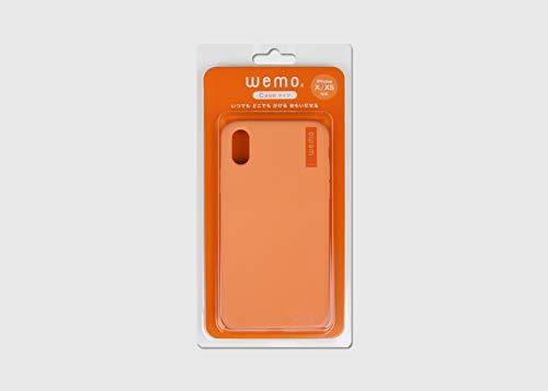 wemo ケースタイプ iPhoneX/XS(コーラルレッド)