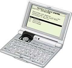 SEIKO IC DICTIONARY SR-M7000 (16コンテンツ, 英語充実モデル, コンパクトサイズ)