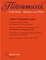 BACH - Suite nコ 2 en Si menor (BWV:1067) para Flauta y Piano (Kirchner)