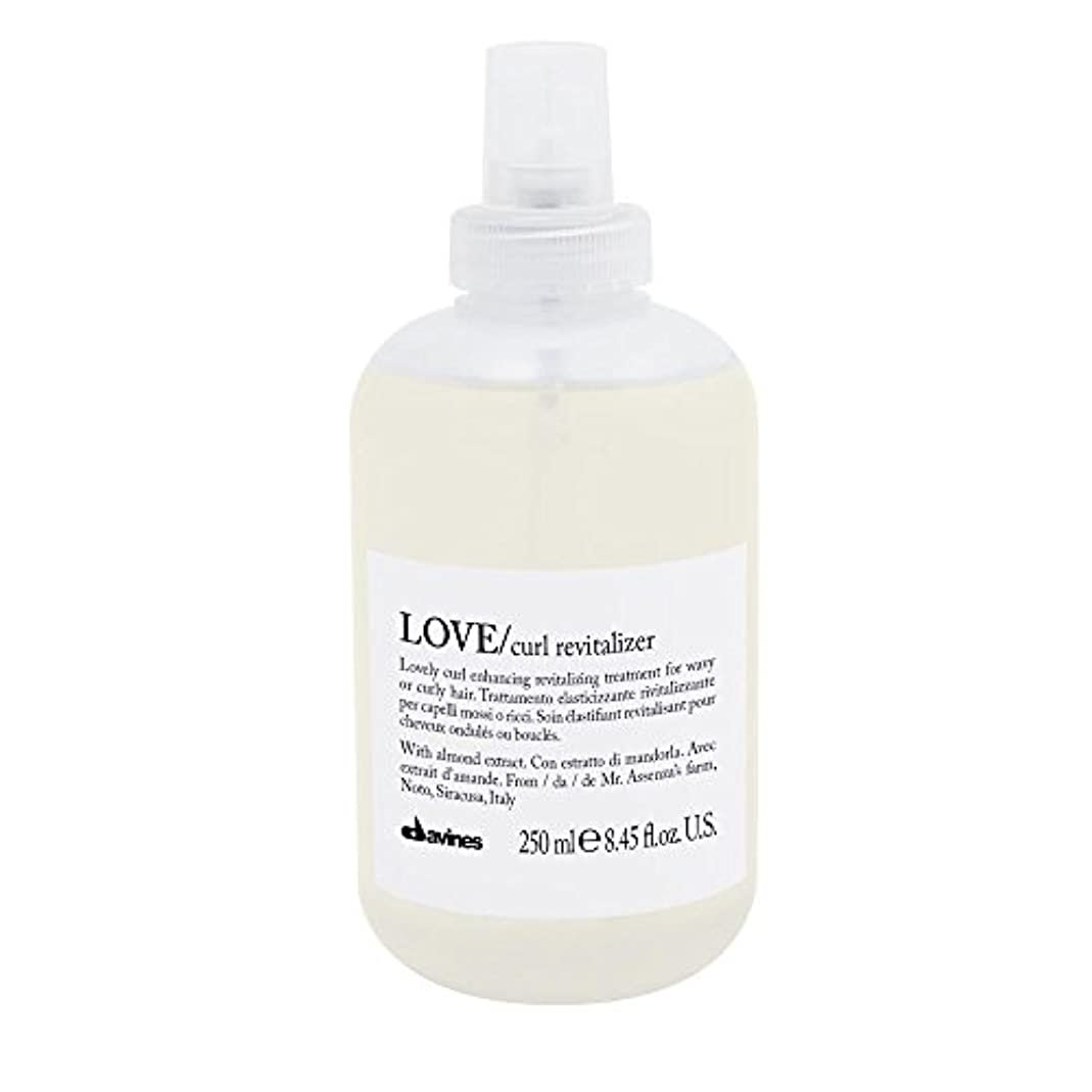 いつもぐるぐるスチールダヴィネス Love Curl Revitalizer (Lovely Curl Enhancing Revitalizing Treatment For Wavy or Curly Hair) 250ml/8.45oz...