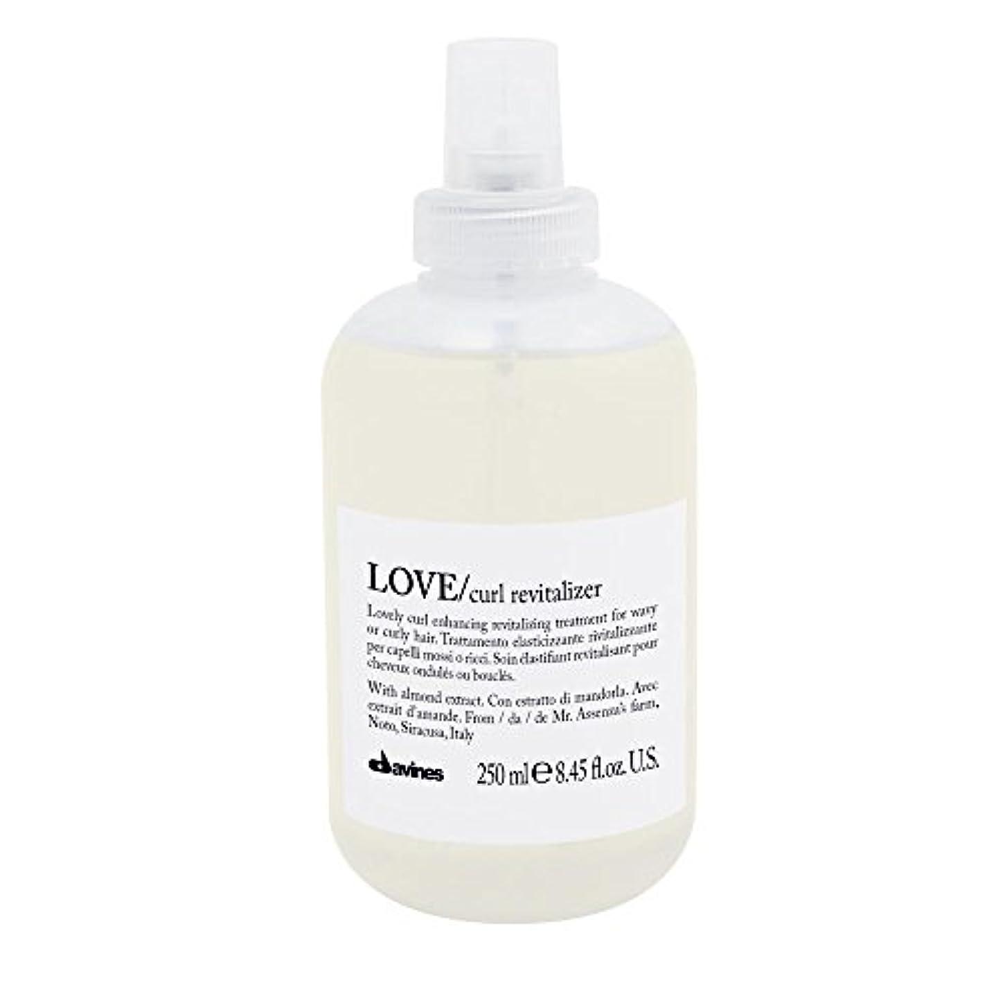 領収書骨折前方へダヴィネス Love Curl Revitalizer (Lovely Curl Enhancing Revitalizing Treatment For Wavy or Curly Hair) 250ml/8.45oz並行輸入品
