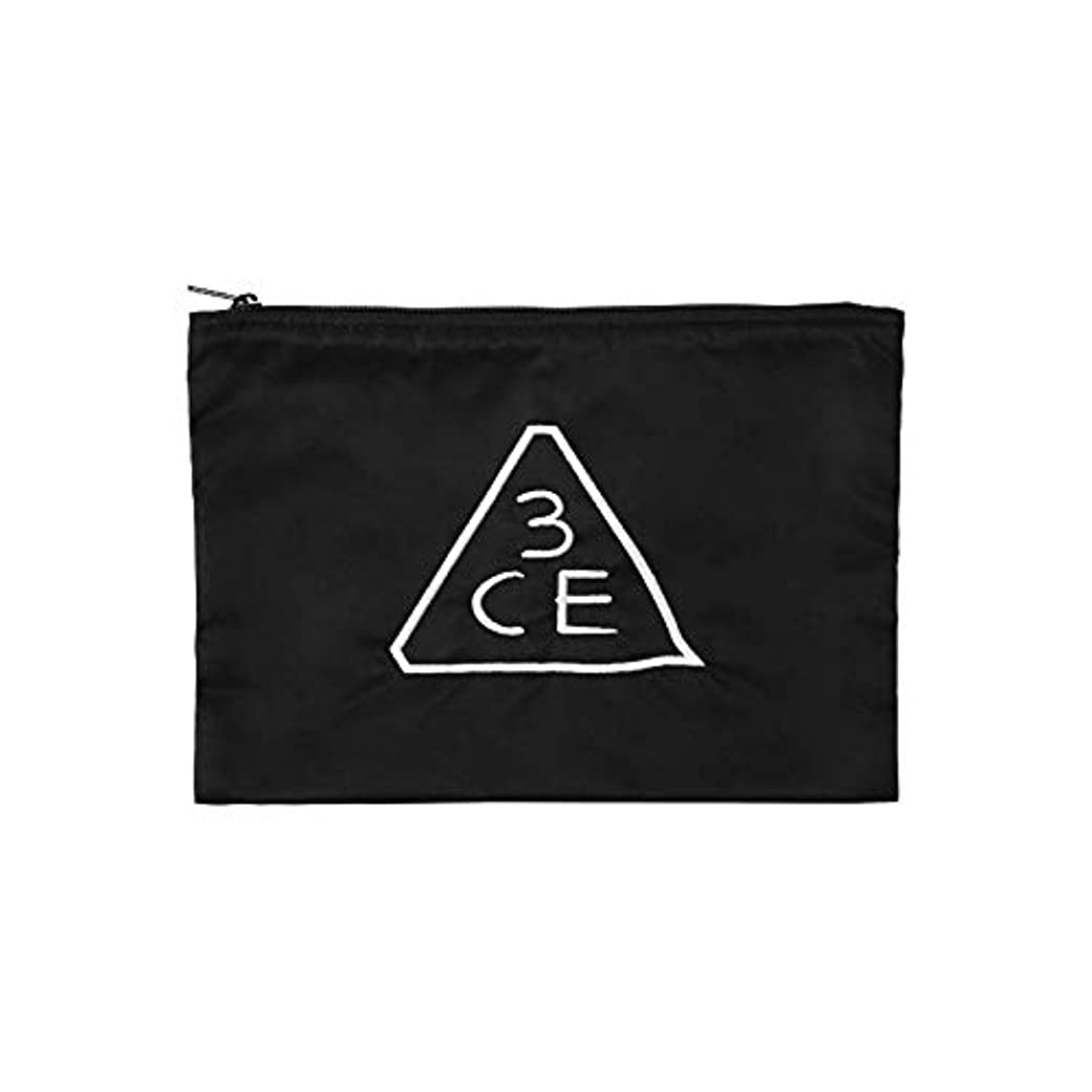 申請中地図社会主義者3CE フラットポーチ FLAT POUCH MEDIUM #BLACK [並行輸入品]