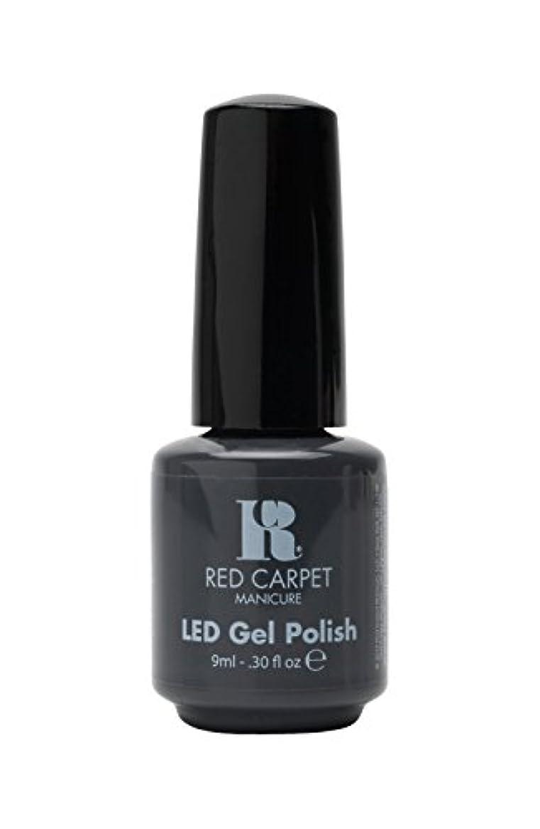 微弱トレイル聴覚Red Carpet Manicure - LED Nail Gel Polish - My Inspiration - 0.3oz/9ml