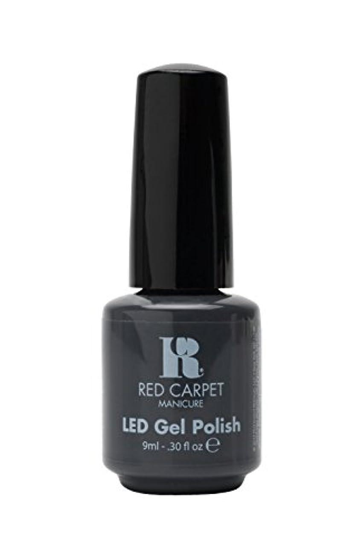魅力スリル発火するRed Carpet Manicure - LED Nail Gel Polish - My Inspiration - 0.3oz/9ml
