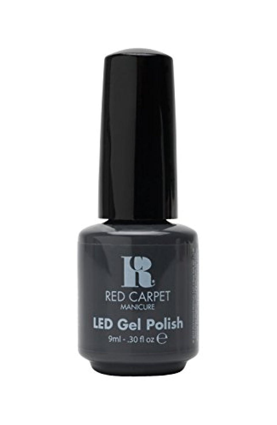 ポジション部分あいさつRed Carpet Manicure - LED Nail Gel Polish - My Inspiration - 0.3oz/9ml