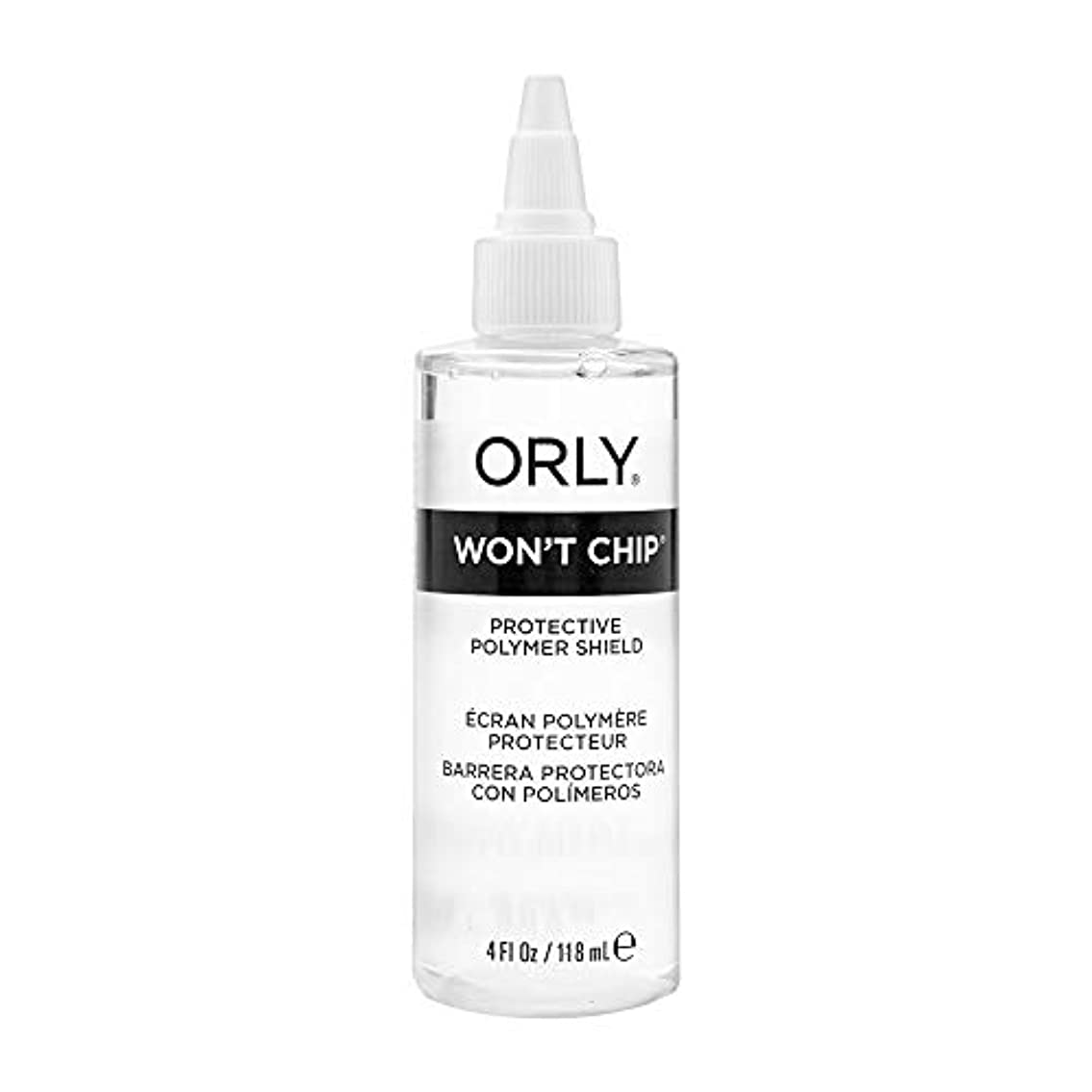 入札太字ラフトOrly Nail Treatments - Won't Chip Top Coat - 4oz / 118ml