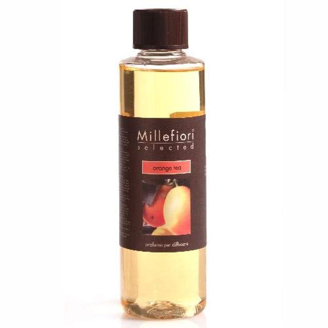 専門化する量で甘味Millefiori SELECTED フレグランスディフューザー専用リフィル 250ml オレンジティ SDIF-25-008