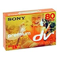Sony Mini-DV Cassette DVC Premium Series 80 Minute (Discontinued by Manufacturer) by Sony [並行輸入品]