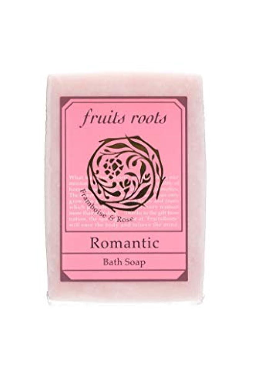 人口セグメント倫理fruits roots ロマンティック バスソープ 1個