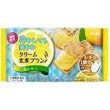 アサヒ クリーム玄米ブラン 塩レモン 72g 1箱(6入)