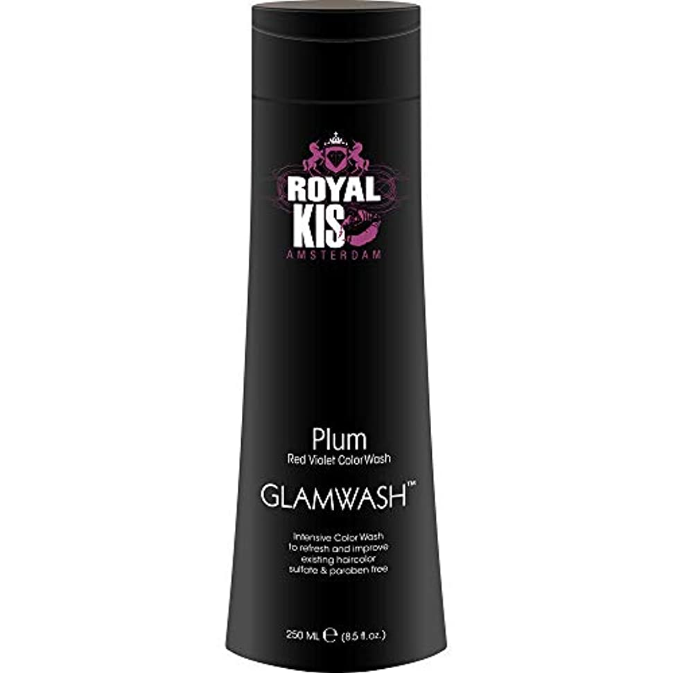 剣終点役員Kappers Kis GlamWashプラム(赤紫)-250ml濃色ウォッシュ