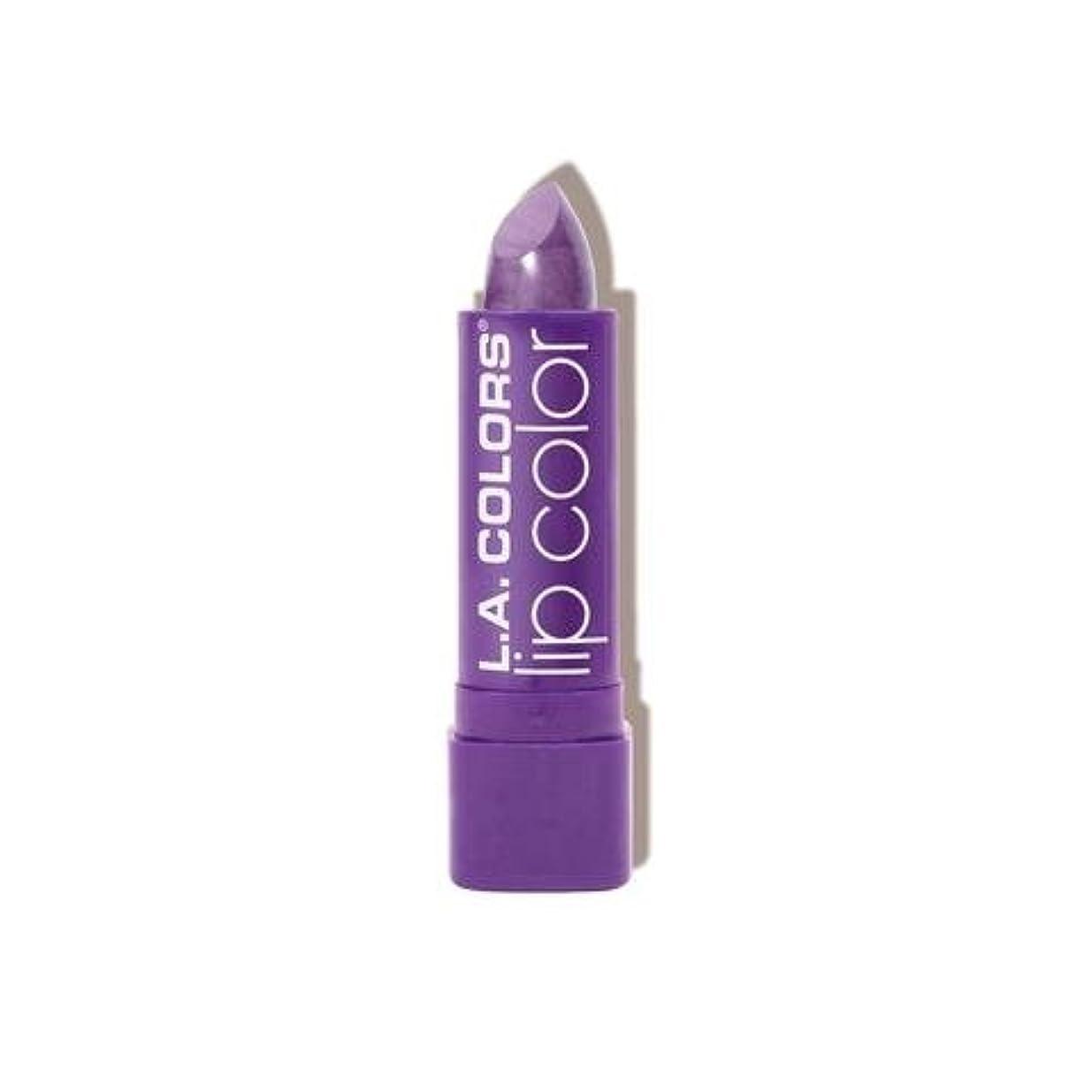教える展望台簡略化するL.A. COLORS Moisture Rich Lip Color - Grape Crush (並行輸入品)