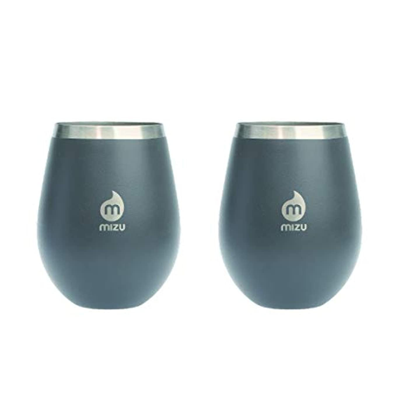着る推進絶縁するmizu(ミズ) WINE CUP シングルウォール ステンレスワインカップ Enduro Gray [エンデューロ グレー] 500ml MIZUWCEGRY Enduro Gray [エンデューログレー]