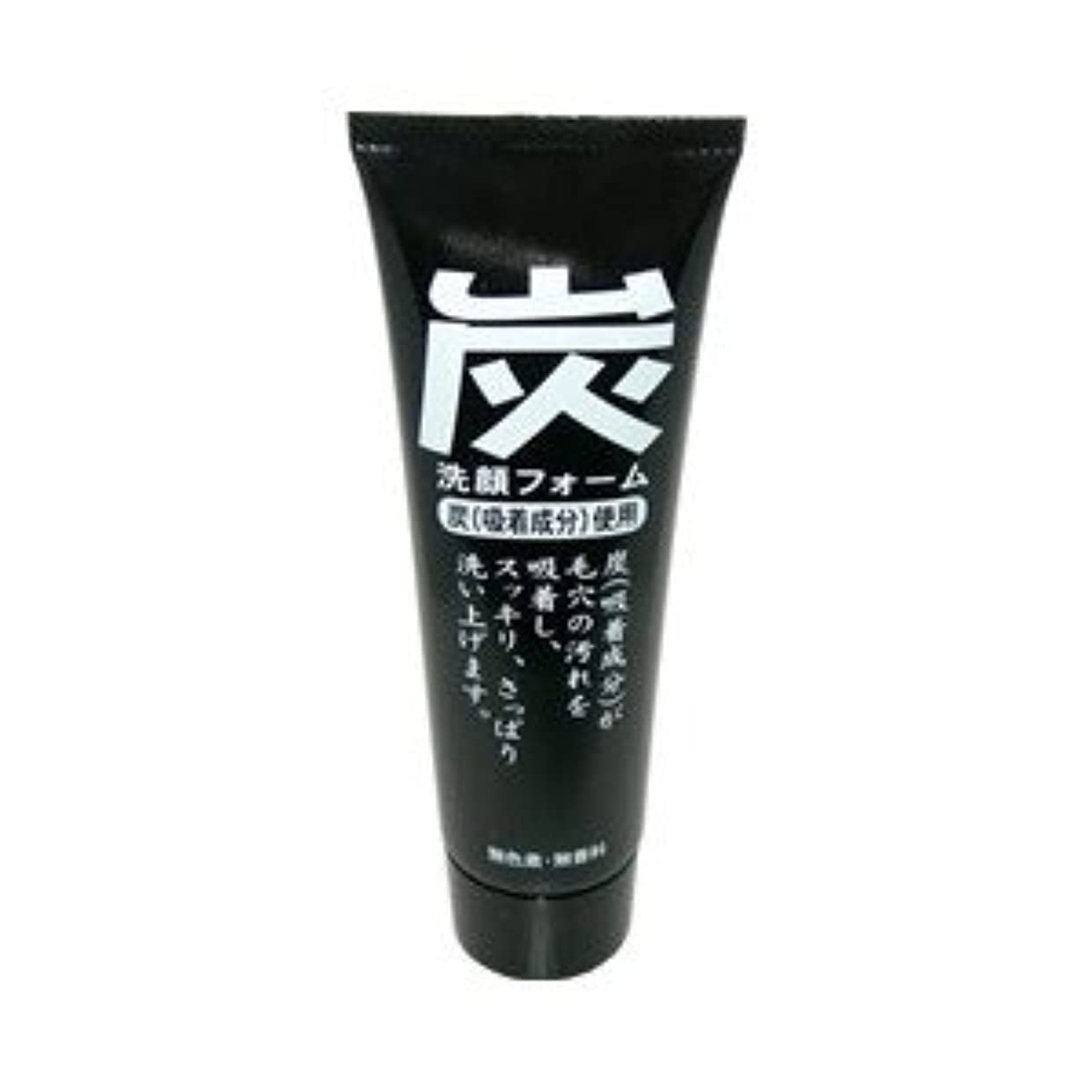 ジュン?コスメティック 炭洗顔フォーム 120g×48点セット (4964653100967)