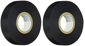 日東 アセテート粘着テープ NO.5 19mmX20m 黒 5-1920 2個セット