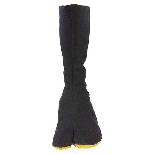 力王 祭り足袋 エアー足袋フィット 12枚コハゼ 黒 29.0cm ACF12