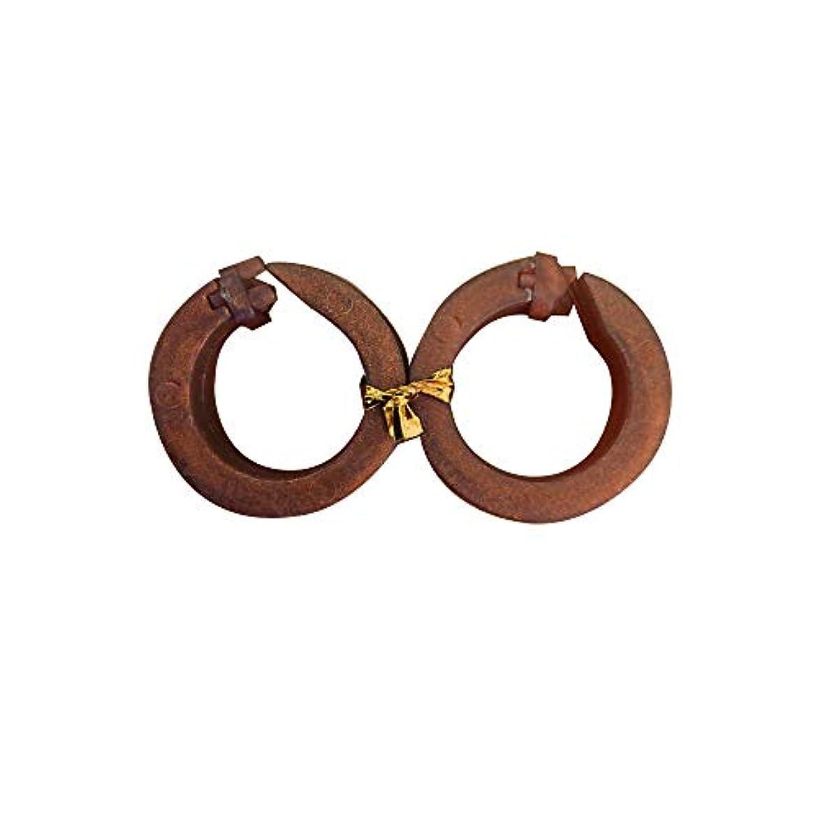 ドライ良性接続されたサフランフィールド 耳つぼ美人 ゴールドブラウン 耳つぼ ダイエット リング 美容 ダイエット器具