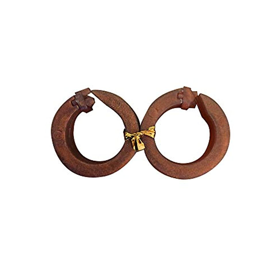 梨実証する陸軍【サフランフィールド】 耳つぼ ダイエットリング 耳つぼ美人 ゴールドブラウン