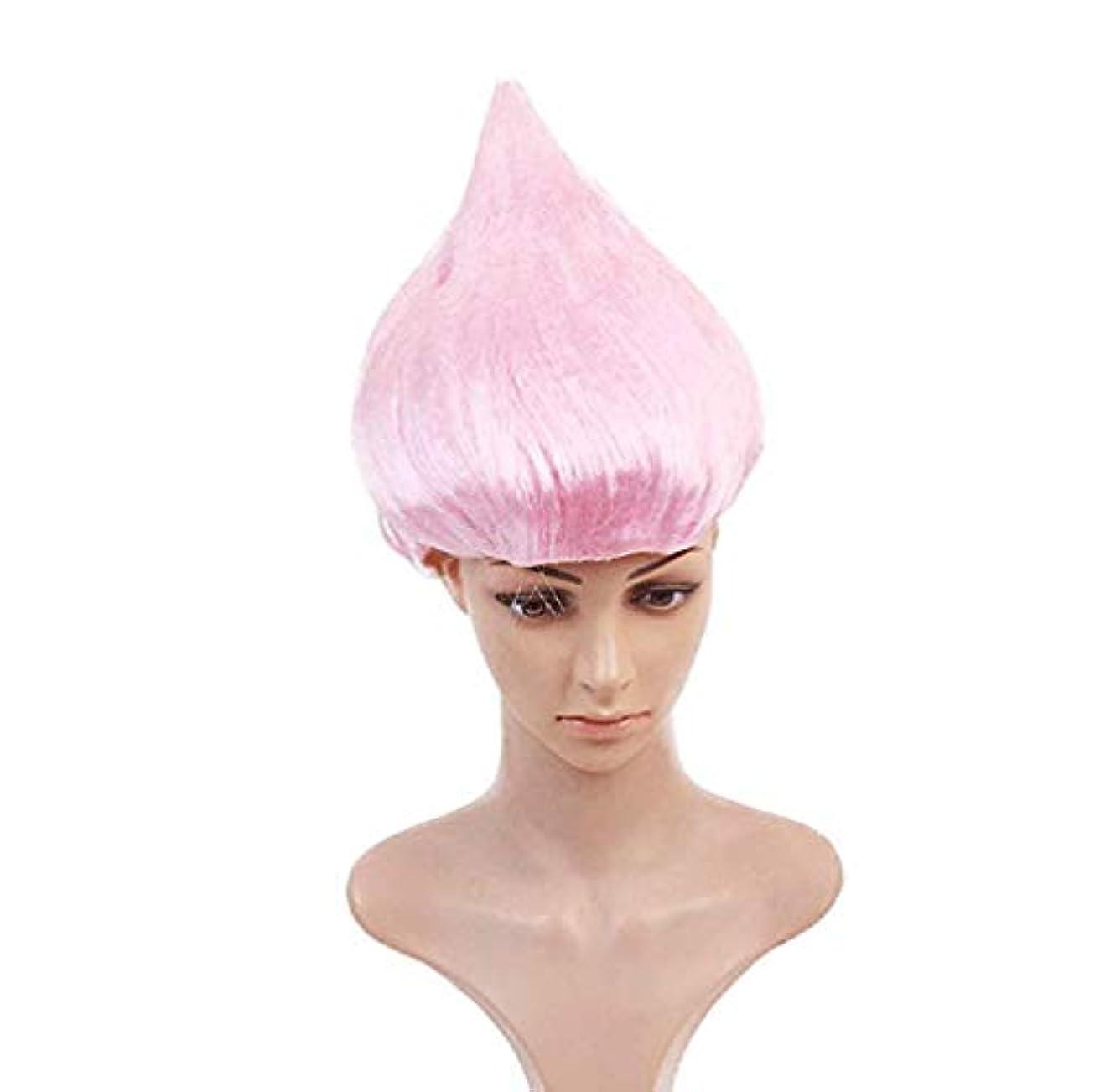 ファンベールフォロー男性女性の髪のかつら新しいファッション髪耐熱マルチカラーかつらコスプレハロウィンクリスマスパーティー