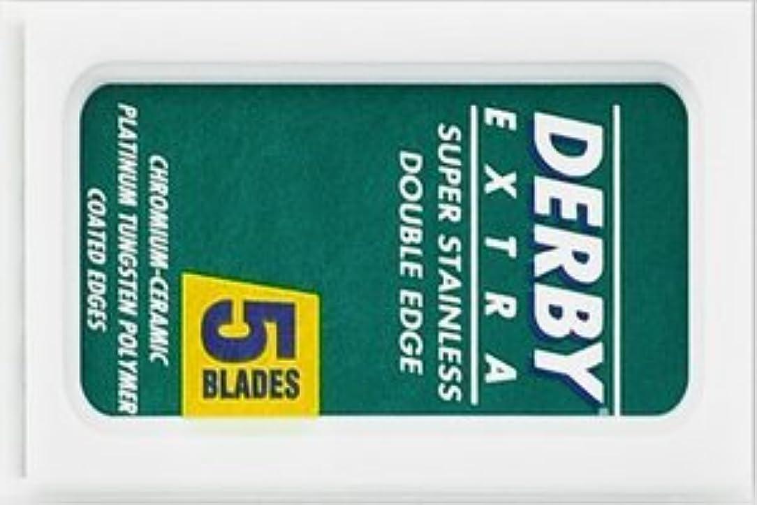 挑発する再撮り妻Derby Extra 両刃替刃 5枚入り(5枚入り1 個セット)【並行輸入品】