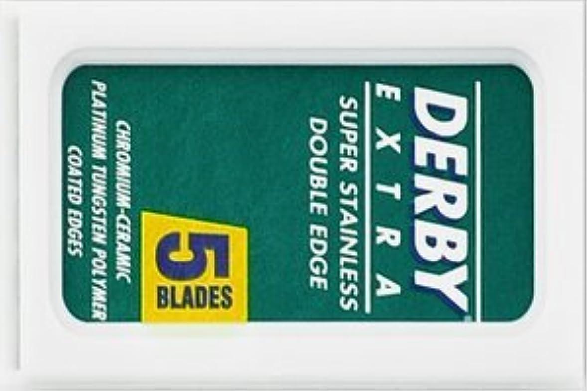 悪意ピッチスーパーDerby Extra 両刃替刃 5枚入り(5枚入り1 個セット)【並行輸入品】