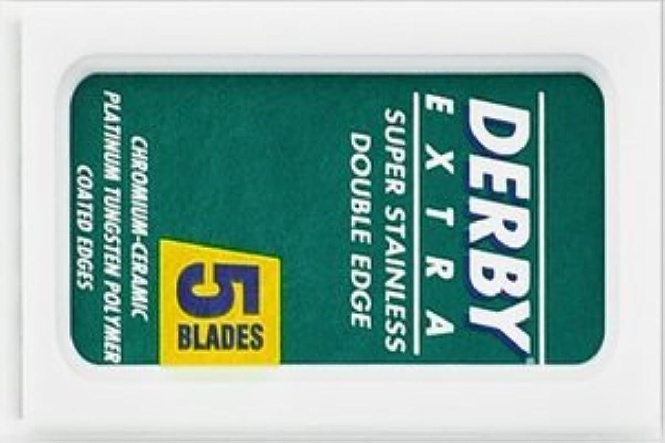 ラメ時々前提条件Derby Extra 両刃替刃 5枚入り(5枚入り1 個セット)【並行輸入品】