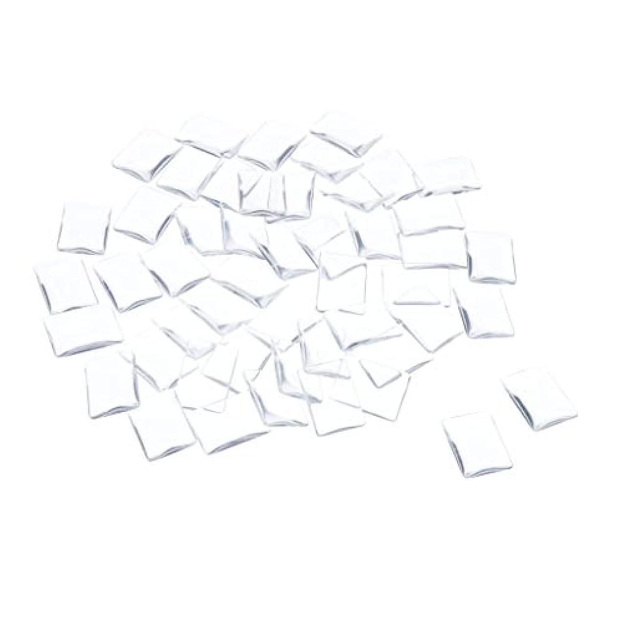 慢性的市場凝縮するSM SunniMix ネイルチップ クリア スクエア ネイルポリッシュアート カラー ディスプレイ カード チャート 全7種 - 矩形