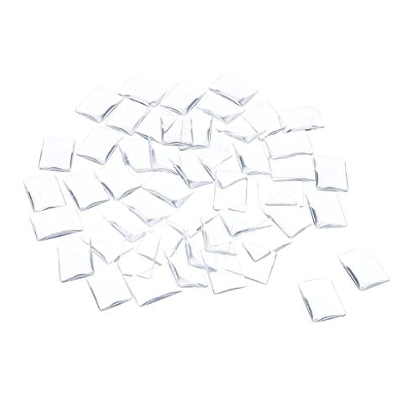 広告主フリース内部SM SunniMix ネイルチップ クリア スクエア ネイルポリッシュアート カラー ディスプレイ カード チャート 全7種 - 矩形