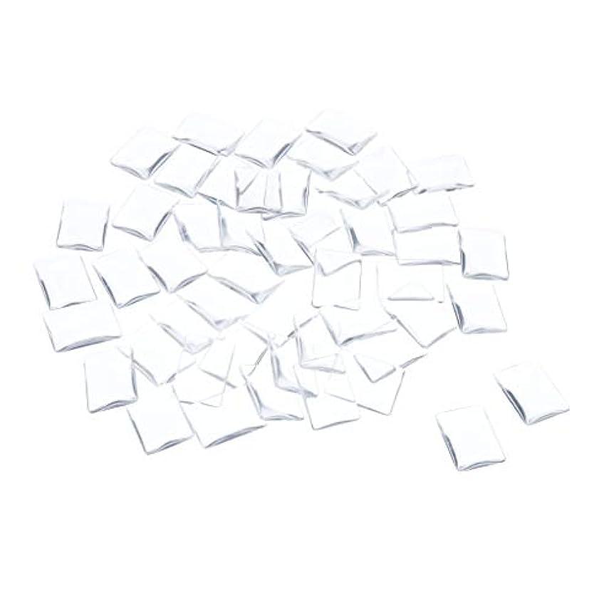 母音キャンペーンリテラシーSM SunniMix ネイルチップ クリア スクエア ネイルポリッシュアート カラー ディスプレイ カード チャート 全7種 - 矩形