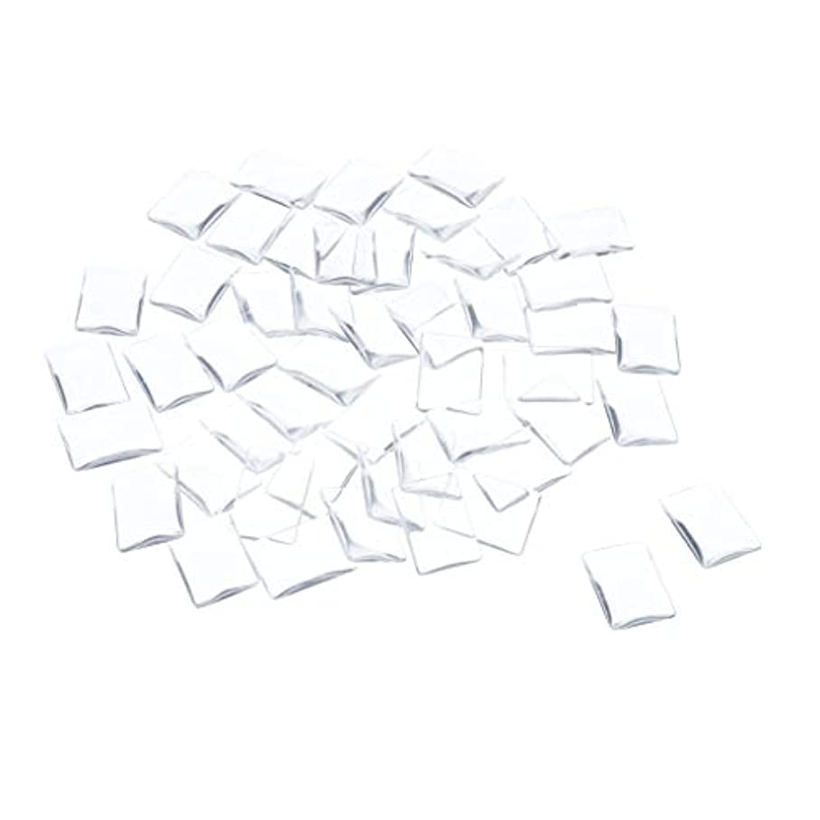 ネズミ責任暗記するSM SunniMix ネイルチップ クリア スクエア ネイルポリッシュアート カラー ディスプレイ カード チャート 全7種 - 矩形
