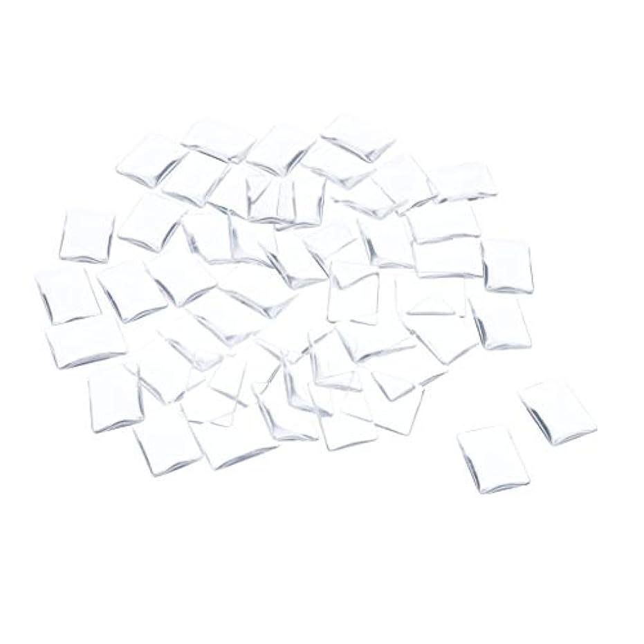 踏み台急ぐホールSM SunniMix ネイルチップ クリア スクエア ネイルポリッシュアート カラー ディスプレイ カード チャート 全7種 - 矩形