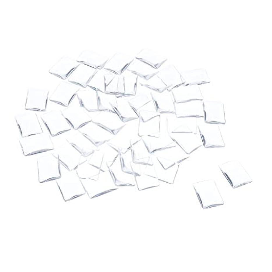 農夫アンプ着るSM SunniMix ネイルチップ クリア スクエア ネイルポリッシュアート カラー ディスプレイ カード チャート 全7種 - 矩形