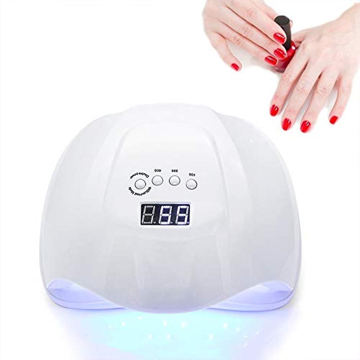 フィッティング見る人垂直ネイルドライヤーネイルライトオールジェルポリッシュ用硬化ランプ36 LEDデュアル光源10秒/ 30秒/ 60秒タイマータッチスマートボタン自動センサー