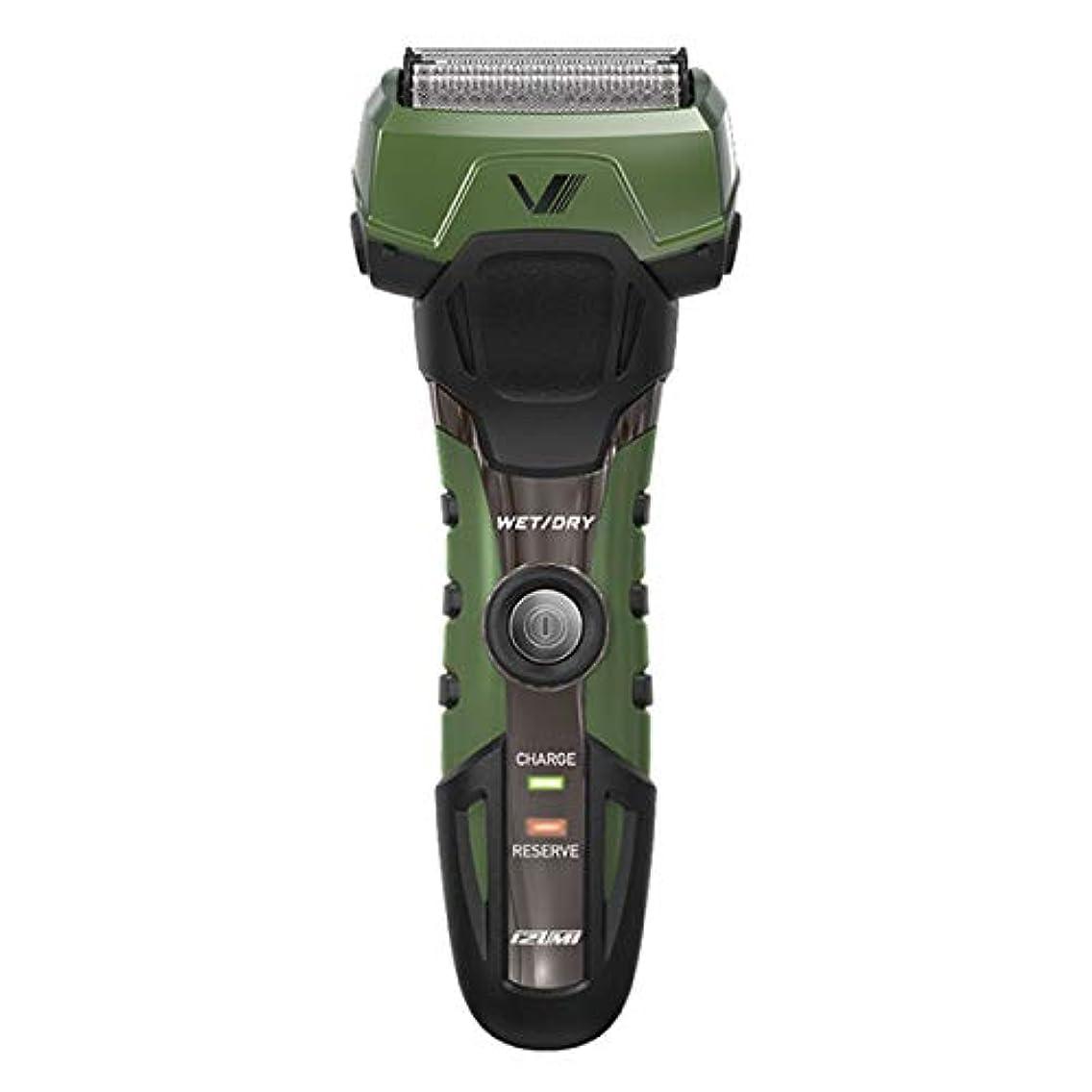 散髪卒業犬IZUMI A-DRIVE グルーミングシリーズ 往復式シェーバー 4枚刃 グリーン IZF-V758-G