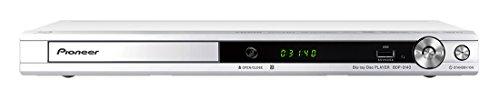 RoomClip商品情報 - Pioneer ブルーレイディスクプレーヤー アップスケーリング/音声付き早見・遅見再生機能搭載 ホワイト BDP-3140-W