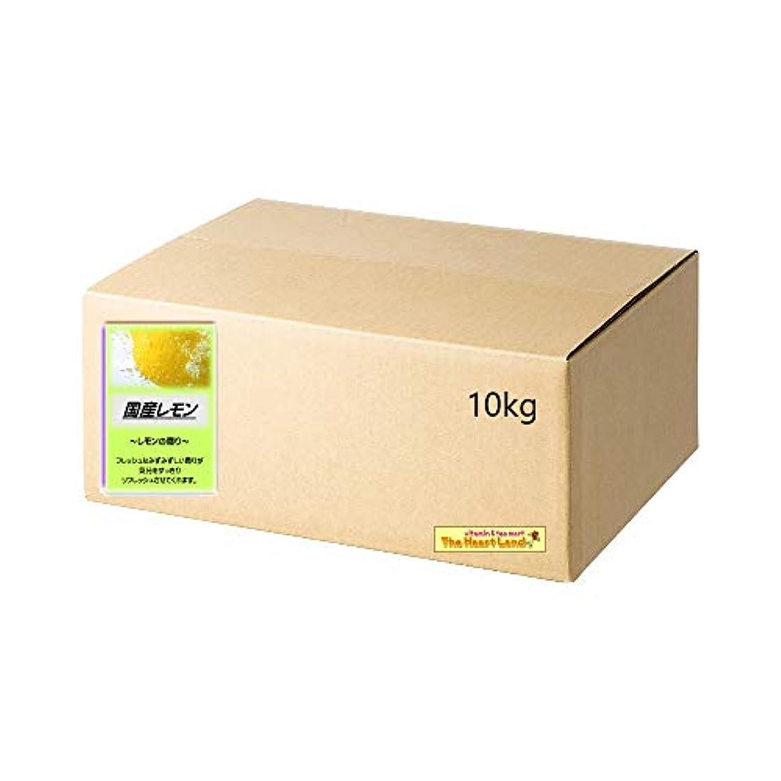 君主蓄積する花輪アサヒ入浴剤 浴用入浴化粧品 国産レモン 10kg