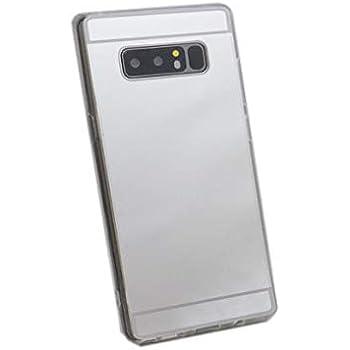 5ad1c25034 Galaxy Note8 SC-01K ケース ミラー 鏡 かがみ ゴールド グレー ピンク カバー シルバー
