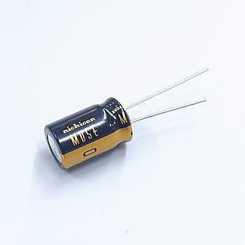 ニチコン アルミ電解コンデンサー(オーディオ用ハイグレード品...