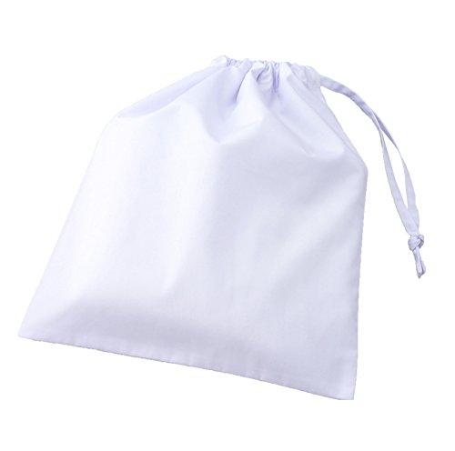 アプロンアパレル 給食袋 白・フリー(34cm×28cm) 393-30AP