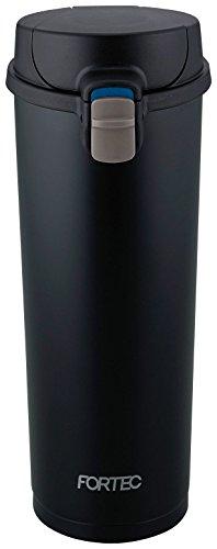 和平フレイズ 水筒 真空断熱タンブラー 480ml ワンタッチ フォルテック・パーク ブラック FPR-8160