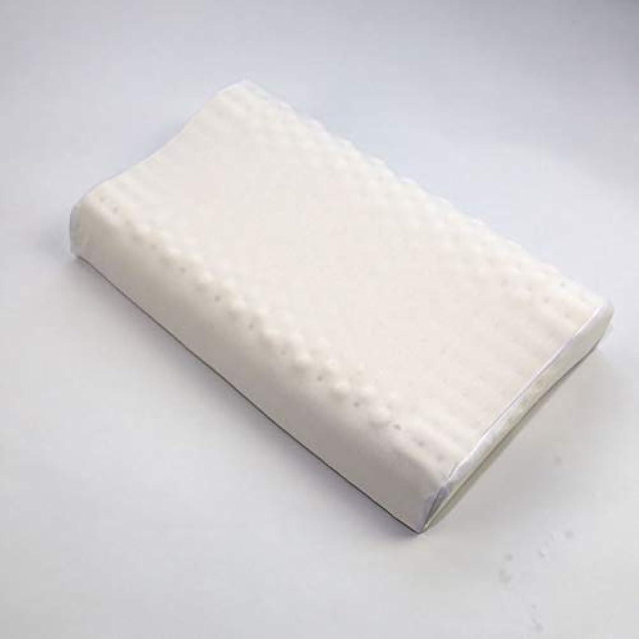 経験的購入釈義粘弾性枕低反発枕,伸縮性に富んだ天然ラテックス枕は、横になったときに首や肩にフィットします,40*60