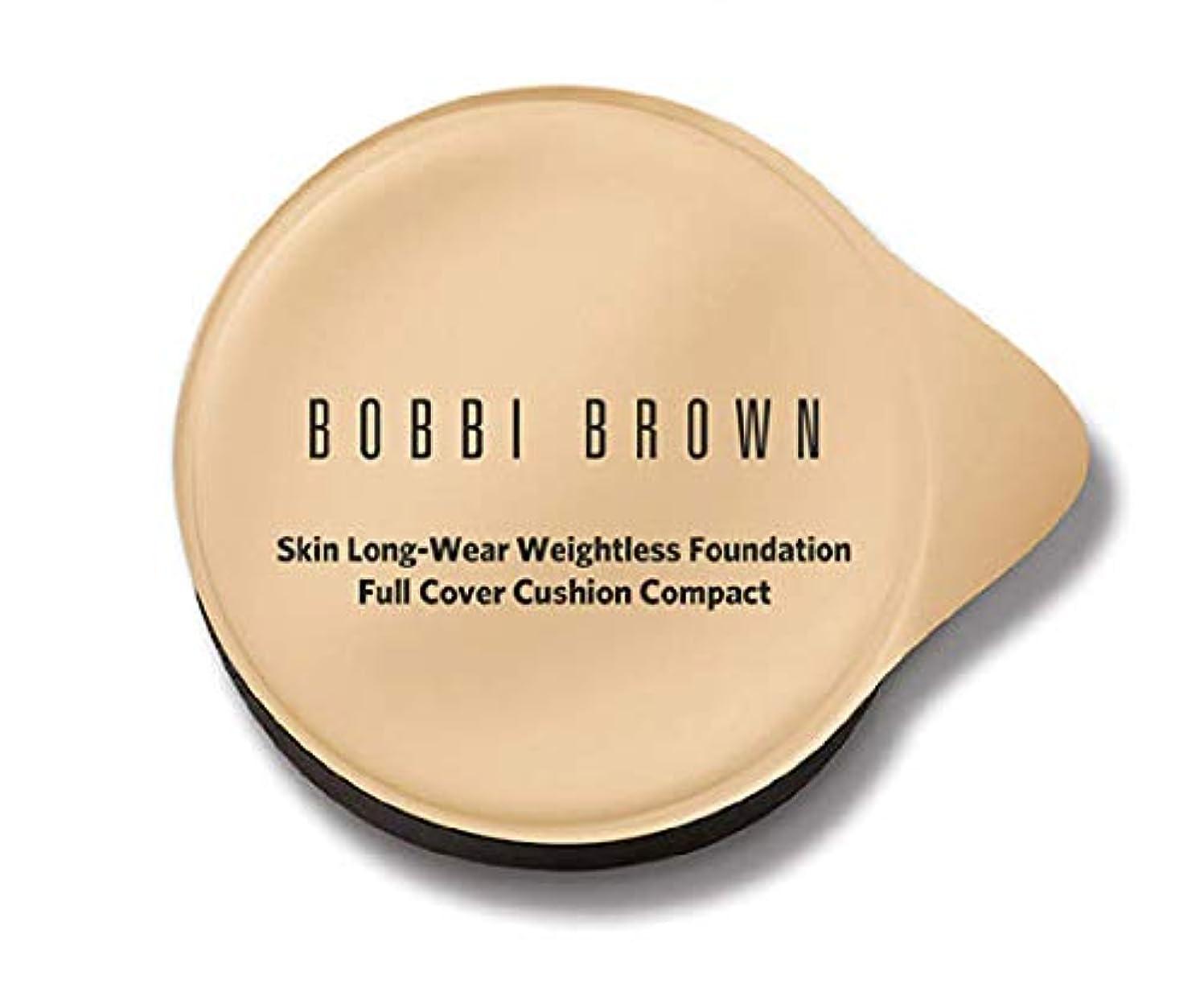 キャビン縫い目引退したボビーブラウンスキンロングウェアウエストレスファンデーションフルカバークッションコンパクトレフィル(スポンジ付)5色展開 (ミディアム)