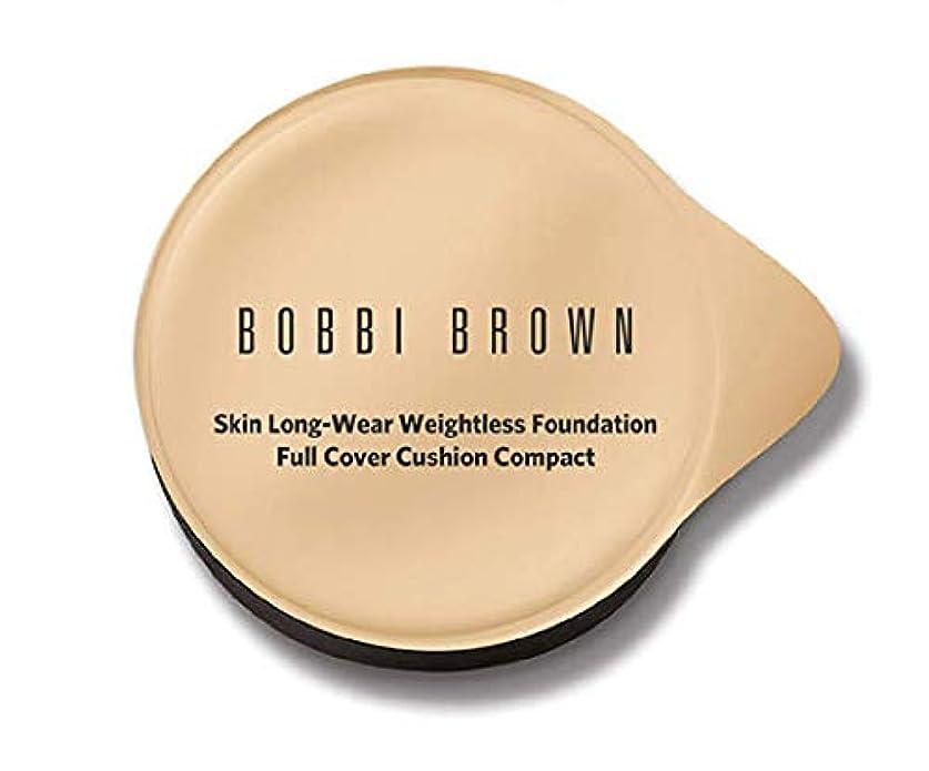 汗成熟したペストボビーブラウンスキンロングウェアウエストレスファンデーションフルカバークッションコンパクトレフィル(スポンジ付)5色展開 (ミディアム)