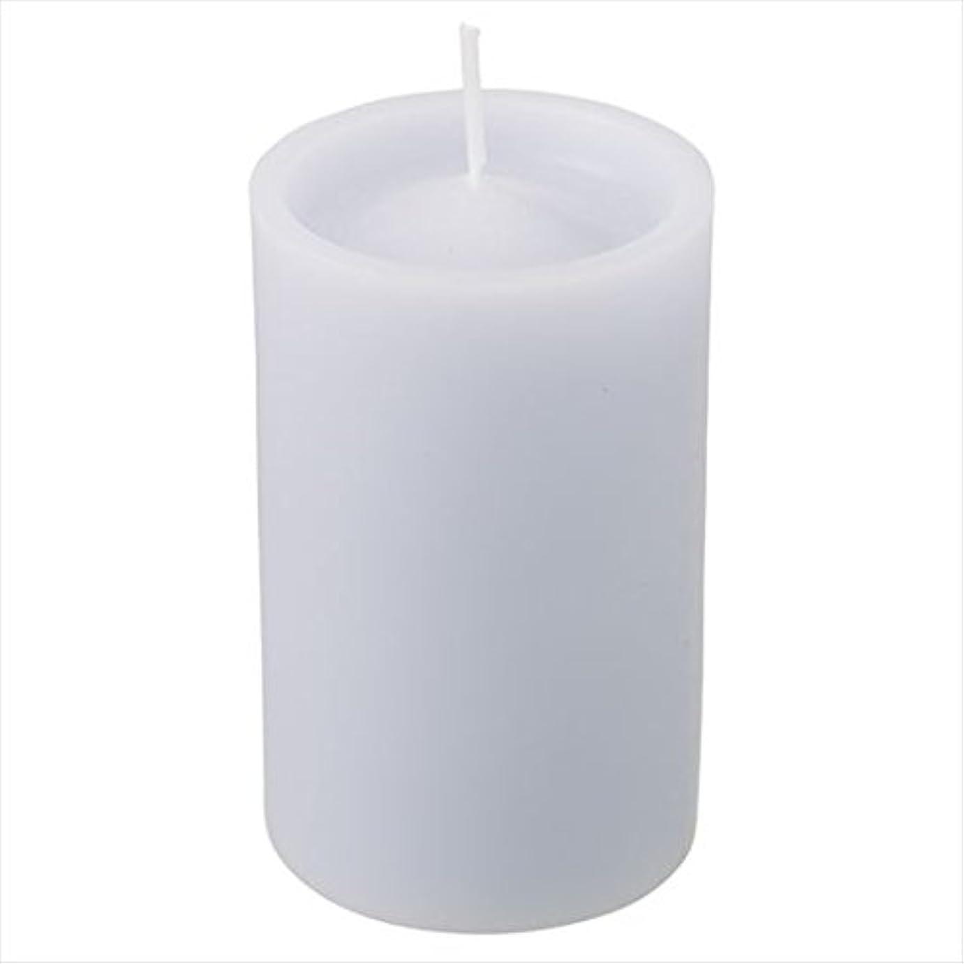 量でかなり縞模様のカメヤマキャンドル( kameyama candle ) ロイヤルラウンド60 「 グレー 」